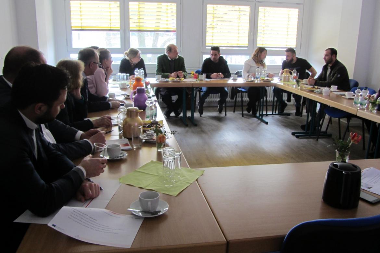 """Das ESF-Ostseenetzwerk """"Baltic Sea Network - ESF"""" bei dem ESF-Chancengenerator zu Besuch"""