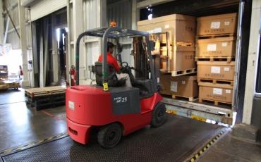 Neues Kursangebot: Logistiker mit Staplerschein
