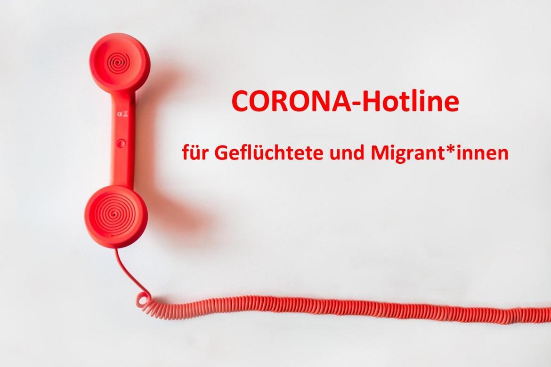 CORONA-Hotline für Geflüchtete und Migrant*innen